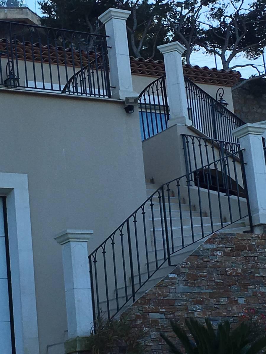 re d escalier avec pose 224 ensues la redonne ferronnerie pour garde corps et portail 224